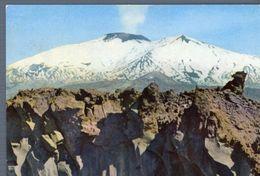 °°° Cartolina - Etna Cava Di Lava Viaggiata °°° - Catania