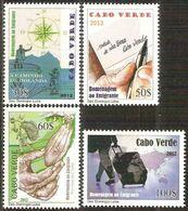 CAPE VERDE IS. - 2012 - Emigrants - Perf 4v Set - M N H - Cape Verde