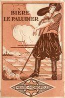 Petit Calendrier Ancien 1932 Publicitaire Illustré * Bière LE PALUDIER - Meuse Monopole * Calendar * Bier Brasserie - Kleinformat : 1921-40