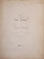 Spartiti - Trois Hits Italians Per Pianoforte Par Francois Hünten - Old Paper