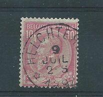 N°46 OBLITERE  HELCHTEREM - 1884-1891 Leopoldo II