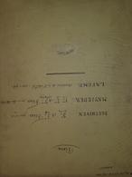 Spartito Manoscritto - Piano - Beethoven - Mayseder - Lafond - Secolo XIX - Old Paper