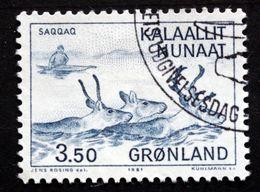 Greenland 1981 Hunting   MiNr.131  (lot D 2914  ) - Groenland