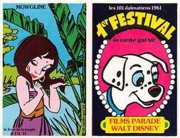 Série Complète 14 Images Adhésif Autocollant La Vache Qui Rit Fromagerie Bel Disney Livre De La Jungle - Old Paper