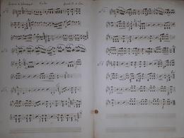 Spartito Manoscritto - La Prise De Sebastopol Per Violon Par Leduc - Secolo XIX - Old Paper