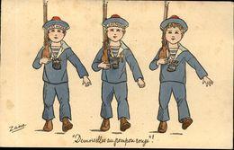 ZANA  Demoiselles Au Pompon Rouge - Illustrators & Photographers