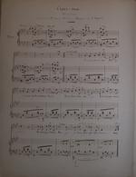 Spartito Manoscritto - Crois Moi - Romance Pour Piano Par F. Masini - Secolo XIX - Old Paper