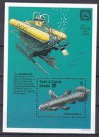 Turks- Und Caicos-Inseln 1997 - Mi.Nr. Block 173 - Postfrisch MNH - Tiere Animals Fische Fishes - Peces