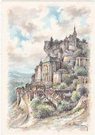 Lot : ROCAMADOUR : Le Rocher Et Le Château : Illustrateur - à Identifier : - Rocamadour