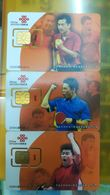 China Unicom GSM,SIM Card,Table Tennis World Champion,unused,fixed Chip - Chine