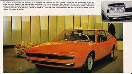 Feuillet De Magazine Maserati - Cars