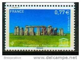 France 2012 (UNESCO) - Stonehenge, Patrimoine Mondial UNESCO / World Heritage - MNH - Archeologia