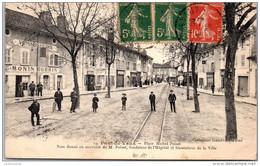 01 PONT DE VAUX - Place Michel Poisat - Pont-de-Vaux