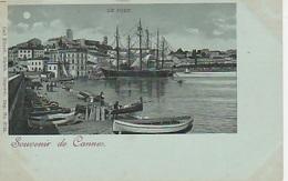 20 / 8 / 169  - SOUVENIR  DE   CANNES  -  LE. PORT ( Clair De Lune ) - CPA - Cannes