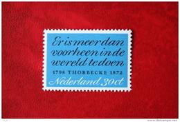 Thorbecke NVPH 1009 (Mi 989) 1972 POSTFRIS / MNH ** NEDERLAND / NIEDERLANDE - Ungebraucht