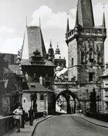 Tchequie PRAGUE Tours Du Pont De Mala Strana Czech Republic PRAHA Mala Strana Bridge Towers - Repubblica Ceca