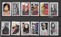 2010 - 234 - 417 à 428 - Contre Les Violences Faites Aux Femmes - Oblitéré - Adhésifs (autocollants)