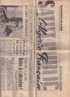 SALUT PUBLIC : DE L'ALGERIE FRANCAISE . 1re ANNEE . N° 1 . 18 JUIN 1958 .  GENERAL DE GAULLE . COMPLET . BON ETAT . PLIE - 1950 à Nos Jours