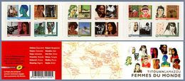 France  274 BC Femmes Du Monde Non Plié Neuf TB ** MNH Sin Charnela Prix De La Poste 13.9 - Adhésifs (autocollants)