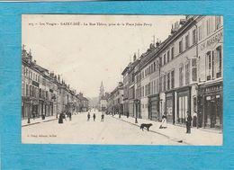 Saint-Dié. - La Rue Thiers, Prise De La Place Jules-Ferry. - Saint Die