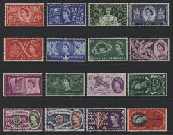 Great Britain(01) 1953-64. 52 Different Used Commemoratives - Used Stamps
