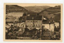 CPA: 01 - St GERMAIN DE JOUX - HOTEL EGRAZ - JARDINS ET TERRASSE - - Autres Communes