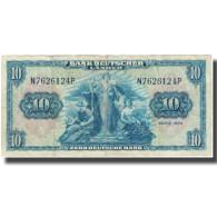 Billet, République Fédérale Allemande, 10 Deutsche Mark, 1949, KM:16a, TB - [ 6] 1949-1990 : RDA - Rep. Dem. Alemana