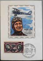 FR. 1972 - Carte-Postale Philatélique 1er Jour - Maryse HILSZ - Daté 10.6.1972 - Parf. Etat - Airplanes