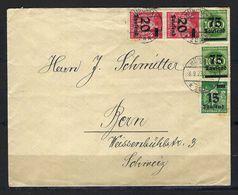 ALLEMAGNE 1923: LSC De München Pour La Suisse, Affr. De 205'000 Mk. Avec Obl. CAD Du 8.9.23 - Brieven En Documenten