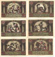 Notgeld Sonneberg 6 X 50 Pf 1922 - [11] Collections