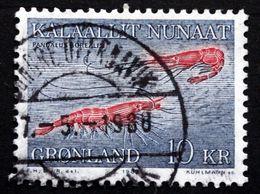 Greenland 1982   Marine Life, Deep See Shrimps   MiNr. 133    (lot D 2956 ) - Usati