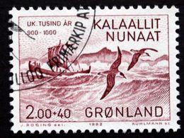 Greenland 1982    Erik Den Røde (Viking Ships, Birds)   MiNr.137  ( Lot D 2957  ) - Groenland