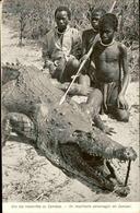 MOZAMBIQUE - Carte Postale - Un Important  Personnage Du Fleuve Zambèze ( Crocodile ) - L 66724 - Mozambique
