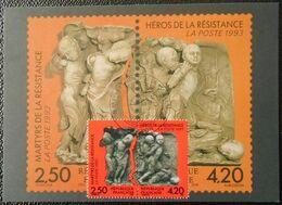 L120 Cachet Temporaire Lyon 69 Rhône Martyrs Et Héros De La Résistance 18 Juin 1993 - Commemorative Postmarks