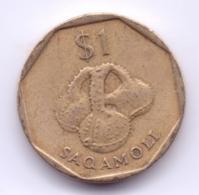 FIJI 1997: 1 Dollar, KM 73 - Fiji