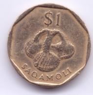 FIJI 1995: 1 Dollar, KM 73 - Fiji