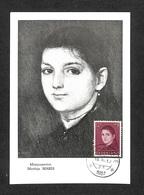 PAYS-BAS - NEDERLAND - Carte MAXIMUM 1957 - Matthijs MARIS - Cartes-Maximum (CM)