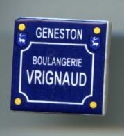FEVES - FEVE PERSO - BOULANGERIE VRIGNAUD - GENESTON - PLAQUE DE RUE - BOULANGERIE VRIGNAUD - Santons/Fèves
