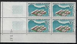 """Mauritanie Coins Datés YT 224 """" JO Grenoble """" Neuf** Du 6.3.67 - Mauritania (1960-...)"""