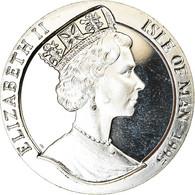 Monnaie, Isle Of Man, Crown, 1995, Pobjoy Mint, Année Du Cochon, SPL - Monnaies Régionales