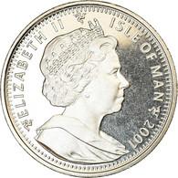 Monnaie, Isle Of Man, Crown, 2001, Pobjoy Mint, Harry Potter - 4ème Portrait - Monnaies Régionales