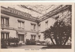 Cartolina  - Postcard /    Viaggiata - Sent /  Napoli, Ingresso Hotel Terme - Napoli (Naples)