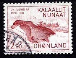 Greenland 1982 Millenium Jub. Whaling MiNr.138 FDC ( Lot E 624 ) - Groenland