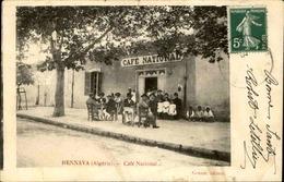 ALGÉRIE - Carte Postale - Hennaya - Café National - L 66736 - Altre Città