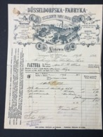 KRAKOW - Dekorative Alte Rechnung 1892 - Polonia