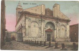 XW 3757 Rimini - Duomo - Tempio Malatestiano / Non Viaggiata - Rimini