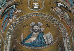 Palermo. Cappella Palatina. Il Cristo. Non Viaggiata - Ancient World