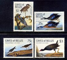 Cayes Of Belize 1985 Belice / Birds MNH Vögel Oiseaux Vögel / C2531  5-18 - Pájaros