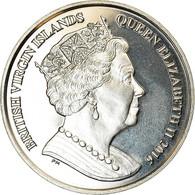 Monnaie, BRITISH VIRGIN ISLANDS, Dollar, 2016, Franklin Mint, Golf, SPL - Iles Vièrges Britanniques