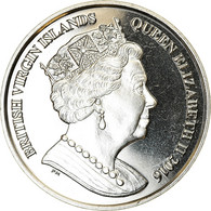 Monnaie, BRITISH VIRGIN ISLANDS, Dollar, 2016, Franklin Mint, Triathlon, SPL - Iles Vièrges Britanniques